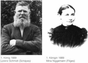 Königspaare 1889