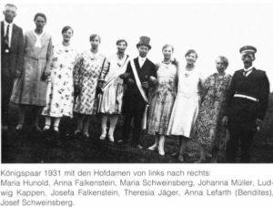 Königspaare 1931