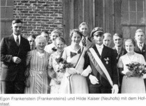 Königspaare 1937