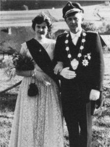 Königspaar 1957