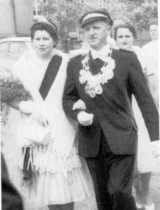 Königspaar 1961