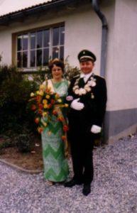 Königspaar 1973