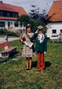 Kinderkönigspaar 1975