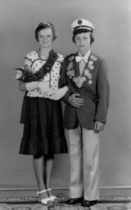 Kinderkönigspaar 1976