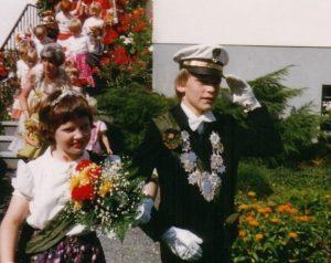 Kinderkönigspaar 1980