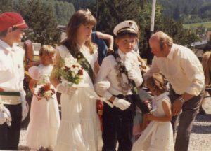 Kinderkönigspaar 1984
