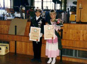 Kinderkönigspaar 1985
