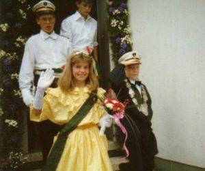 Kinderkönigspaar 1987