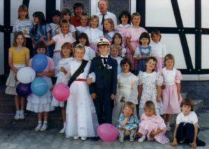 Kinderkönigspaar 1988