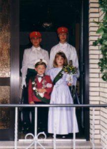 Kinderkönigspaar 1996