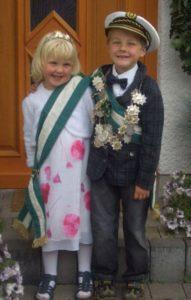 Kinderkönigspaar 2007