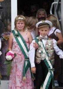 Kinderkönigspaar 2008