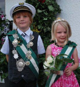 Kinderkönigspaar 2011