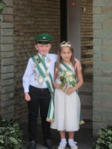 Kinderkönigspaar 2012
