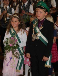 Kinderkönigspaar 2014