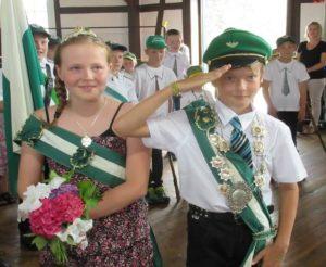 Kinderkönigspaar 2015