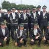 Medeloner Schützen auf dem Europaschützenfest 2018